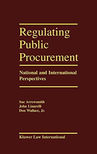9789041106360: Regulating Public Procurement, National and International Perspectives