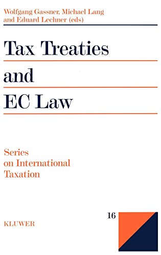 9789041106803: Tax Treaties and the EC Law (Series on International Taxation)