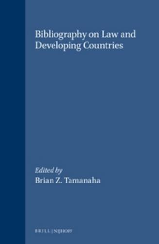 9789041108609: Bibliography on Law and Developing Countries