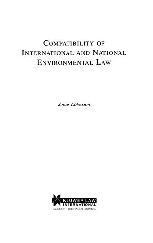 Compatibility of International and National Environmental Law: Ebbesson