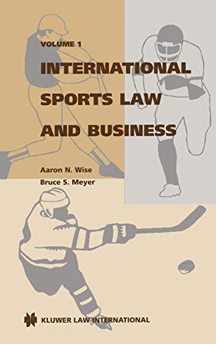 9789041109774: International sports law and business