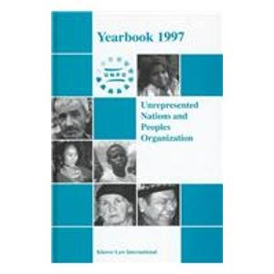 Unrepresented Nations and Peoples Organization. Yearbook 1997. - Mullen, Christopher A. & J. Atticus Ryan (eds.)