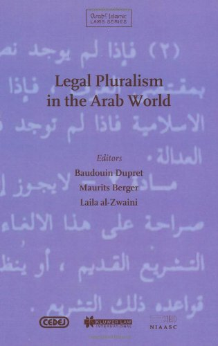 Legal Pluralism in the Arab World (Hardback): Baudouin Dupret, Maurits Berger, Laila Al-Zwaini