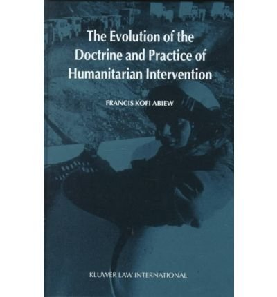 The Evolution of the Doctrine and Practice: FRANCIS KOFI ABIEW.