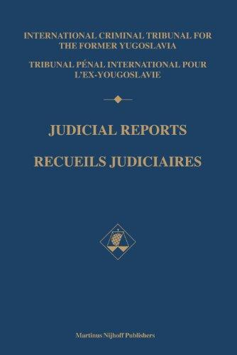 Judicial reports/Recueils Judiciaires 1994-1995: Volumes I and II/Tomes I et II (Hardback...