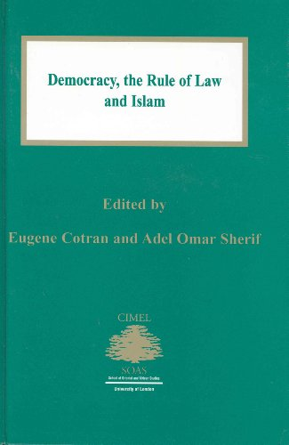 9789041111852: Democracy:The Rule of Law and Islam (Cimel Book Series, 6.)