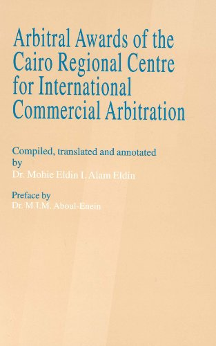 Arbitral Awards of the Regional Centre for: M.I.M. Aboul-Enein; Mohie