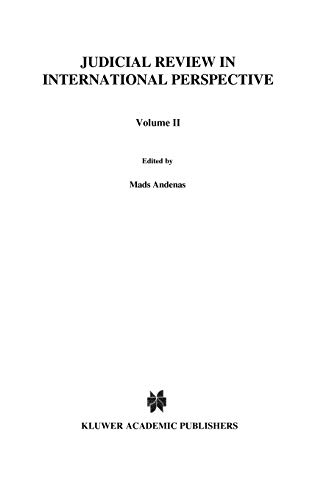 9789041113788: Judicial Review in International Perspective, Liber Amicorum in Honour of Lord Slynn of Hadley (Liber Amicorum in Honour of Lord Slynn of Hadley, Vol 2) (v. 2)