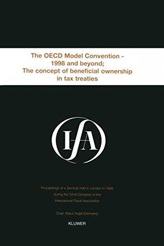 Ifa: The OECD Model Convention - 1998: International Fiscal Association