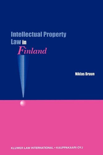 9789041115447: Intellectual Property Law in Finland