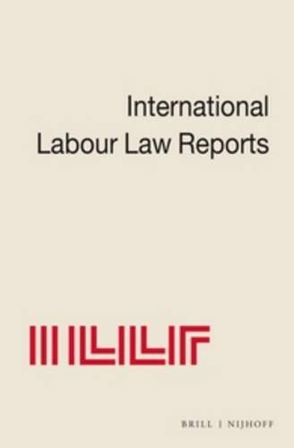 International Labour Law Reports (Hardback)