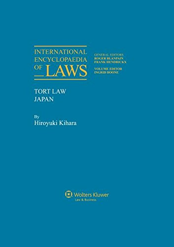 9789041115737: International Encyclopaedia of Laws, Tort Law (International Encycleoaedia of Laws)