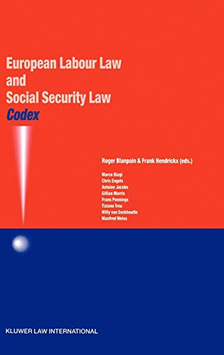 Codex: European Labour Law and Social Security Law (Paperback)