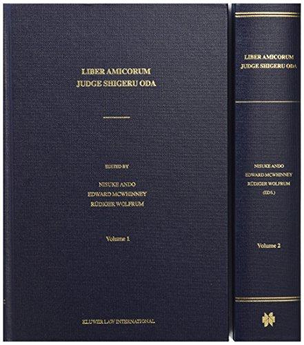 Liber Amicorum Judge Shigeru Oda (2 vols) (Hardback)