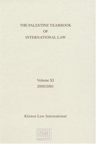 The Palestine Yearbook of International Law, Volume 11 (2000-2001) (Hardback)