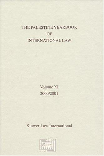 The Palestine Yearbook of International Law 2000-2001 (Hardback)
