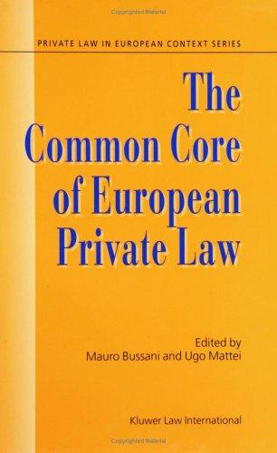 9789041118523: The Common Core of European Private Law