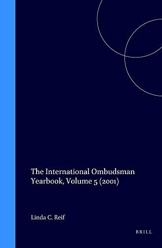 The International Ombudsman Yearbook 2001 (Hardback)