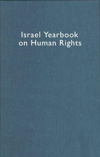 Israel Yearbook on Human Rights 2000: Dinstein, Yoram