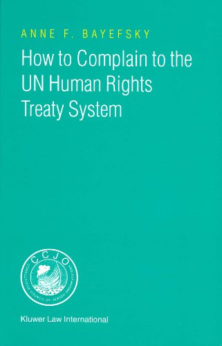 9789041119117: How to Complain to the UN Human Rights Treaty System