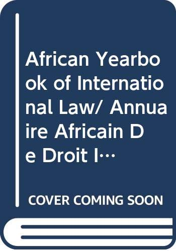 African Yearbook of International Law: Abdulqawi Yusuf
