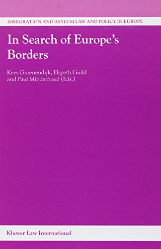 9789041119773: In Search of Europe's Borders (Immigration and Asylum Law and Policy in Europe)