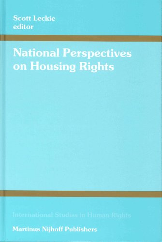 National Perspectives on Housing Rights (Hardback)