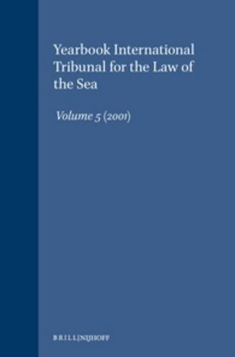 9789041120670: 5: Yearbook, 2001 (Yearbook International Tribunal for the Law of the Sea)