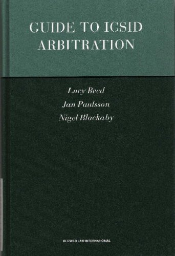 9789041120939: Guide To ICSID Arbitration