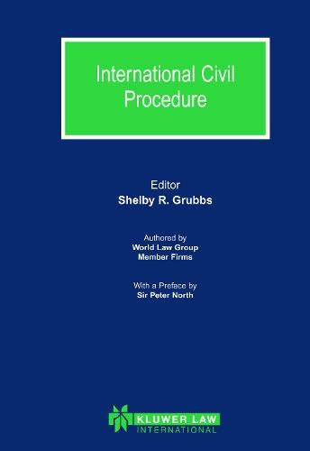 9789041120946: International Civil Procedure (World Law Group Series)