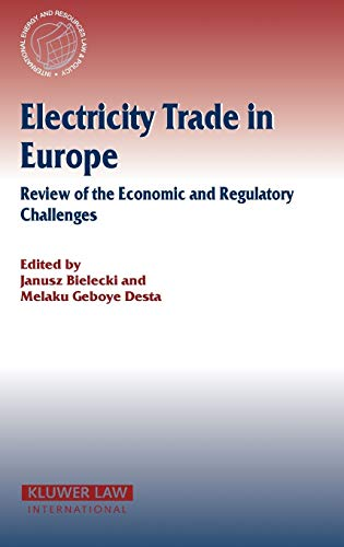 9789041122797: Electricity Trade in Europe (International Energy & Resources Law and Policy Series Set)