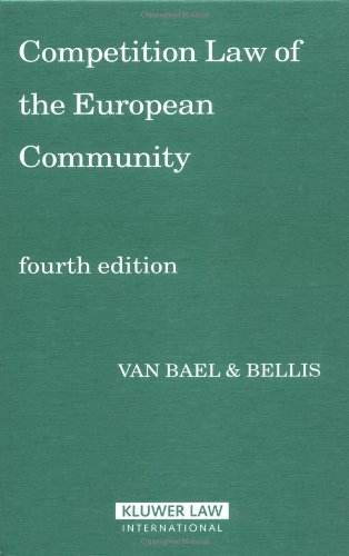 9789041123091: Competition Law of the European Community