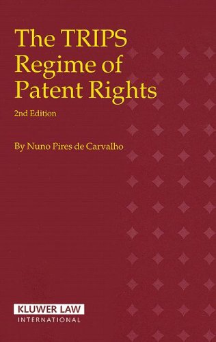 9789041123176: The Trips Regime of Patent Rights