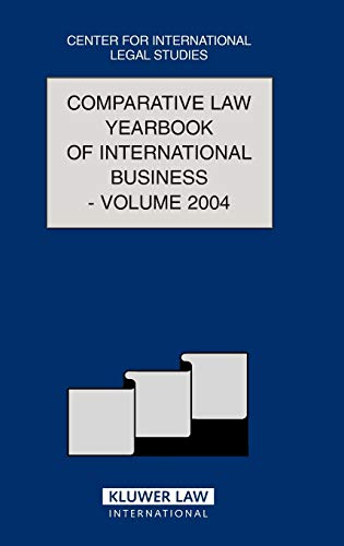 Comparative Law Yearbook of International Business 2004: v. 26 (Hardback)