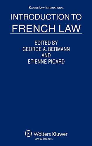 9789041124661: Introduction to French Law