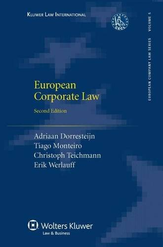 9789041124845: European Corporate Law, Second Edition, Revised (European Company Law Series)