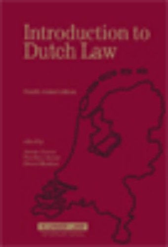 9789041125071: Introduction to Dutch Law, 4th Revised Edition