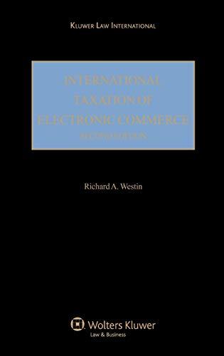 International Taxation of Electronic Commerce (Hardback)