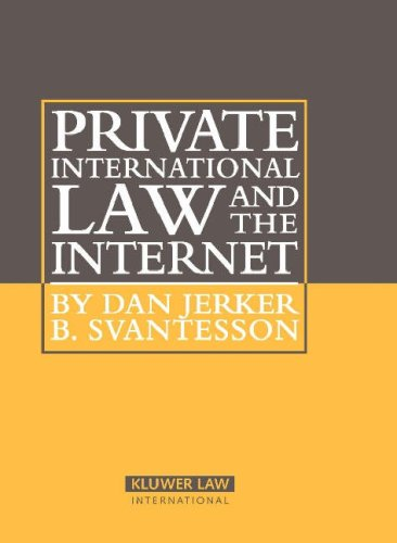9789041125163: Private International Law and the Internet (Information Law Series Set)