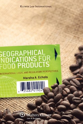 9789041125484: Geographical Indications for Food Products