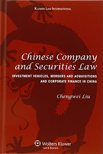 9789041126191: Chinese Company and Securities Law