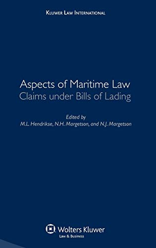 Aspects of Maritime Law: Claims Under Bills: Hendrikse and Hendrikse,
