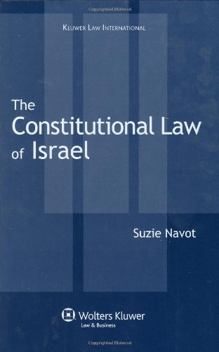 9789041126511: Constitutional Law of Israel