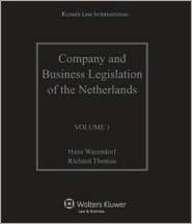 9789041127396: Company and Business Legislation of the Netherlands