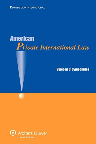 9789041127426: American Private International Law