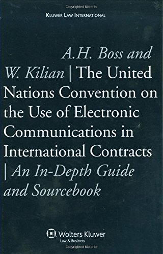 9789041127495: The United Nations Convention USe Electronic Communic Intl Contra