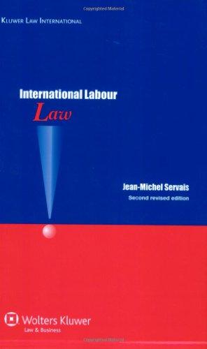 9789041128140: International Labour Law: International Labour Standards 2e