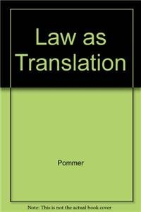 9789041128713: Law as Translation