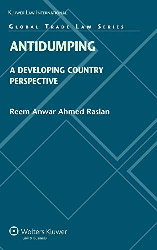 9789041131287: Antidumping: A Developing World Perspective (Global Trade Law Series)