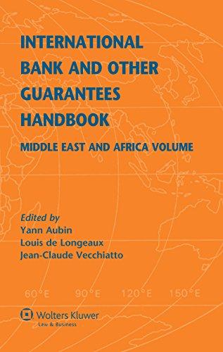 International Bank and Other Guarantees Handbook. Middle: Yann Aubin, Louis